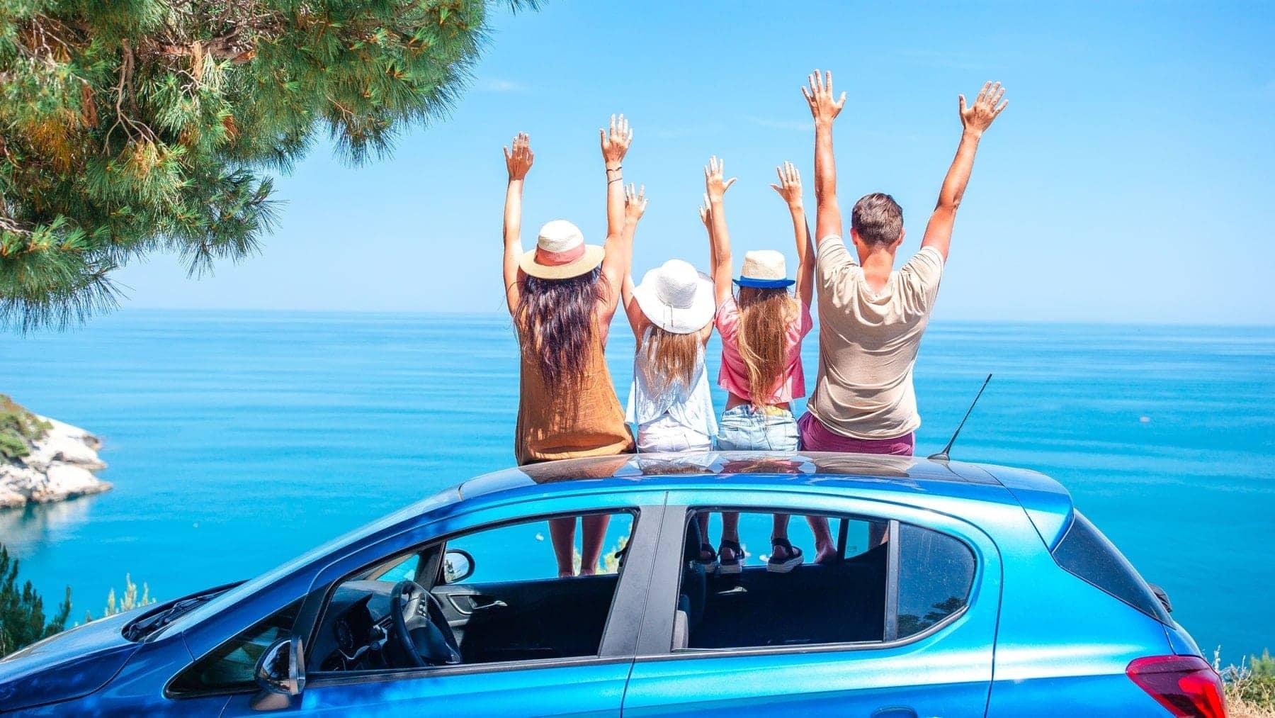 Piensa en un auto nuevo para unas vacaciones distintas