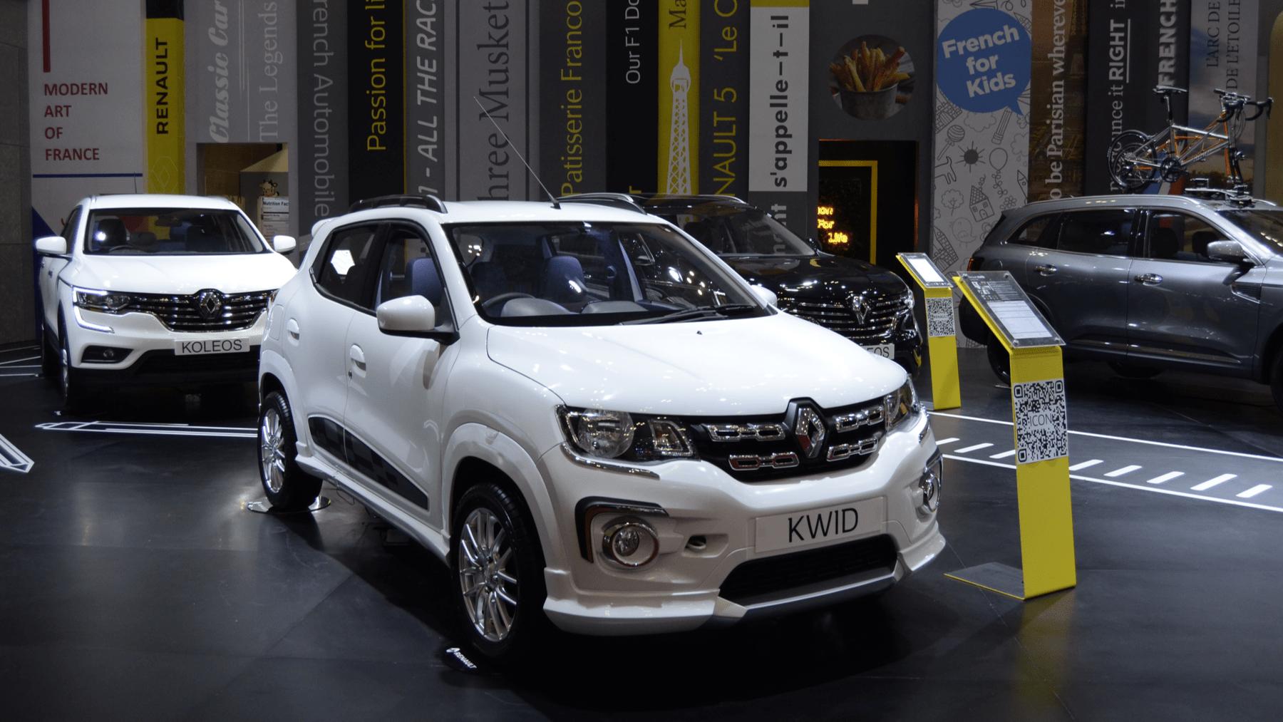 El Renault Kwid lo tiene todo y en forma compacta